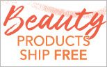 All Beauty Products Ship Free!