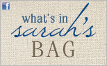 Enter to Win What's in Sarah's Bag
