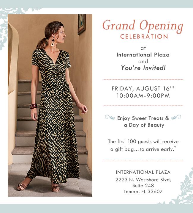 International Plaza Grand Opening