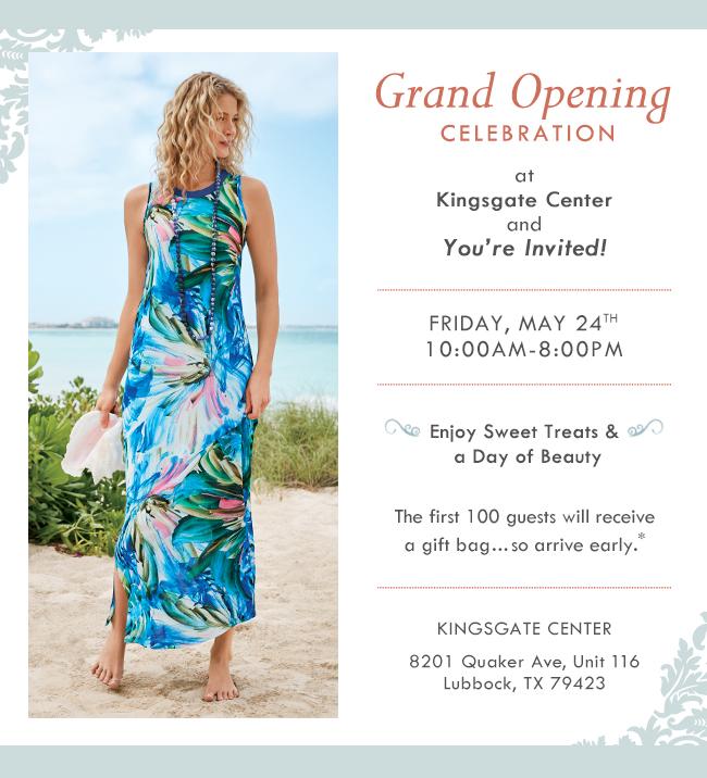 Kingsgate Center Grand Opening