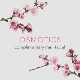 Osmotics Skincare Event