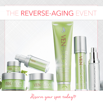 VENeffect: The Reverse-Aging Event
