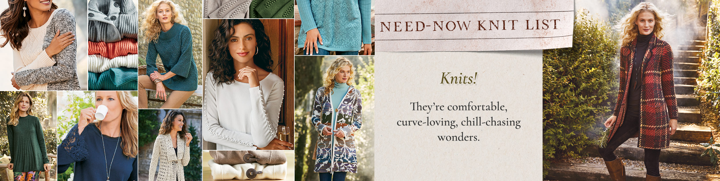 Need-Now Knit List