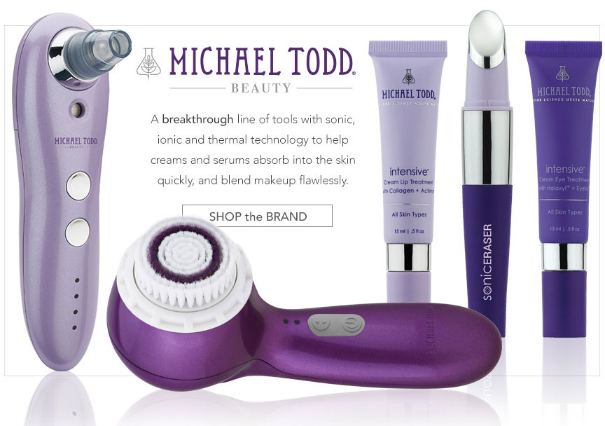 Introducing Michael Todd Beauty- shop the brand