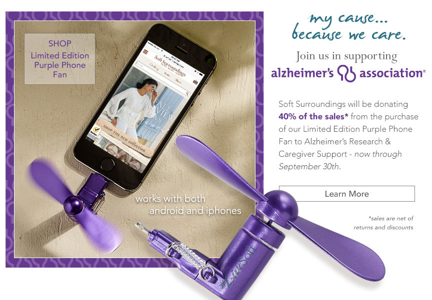 My cause...because we care - join us in supporting Alzheimers. Learn more.