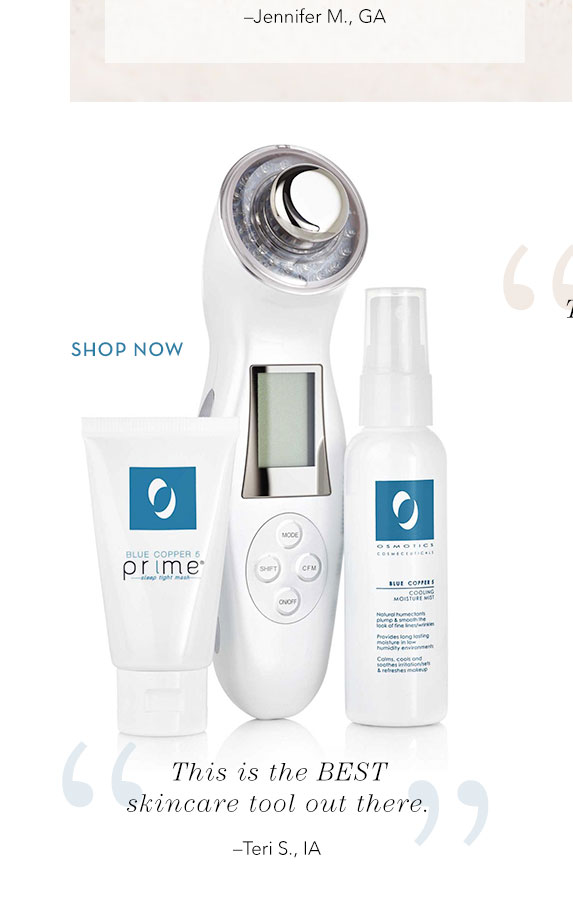 Beauty Tools we love - shop the Osmotics Ageless Face Enhancer