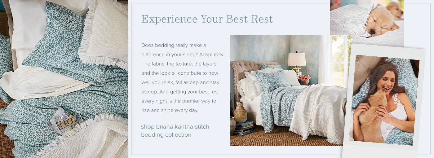 Shop the Briana Kantha-Stitch Bedding Collection