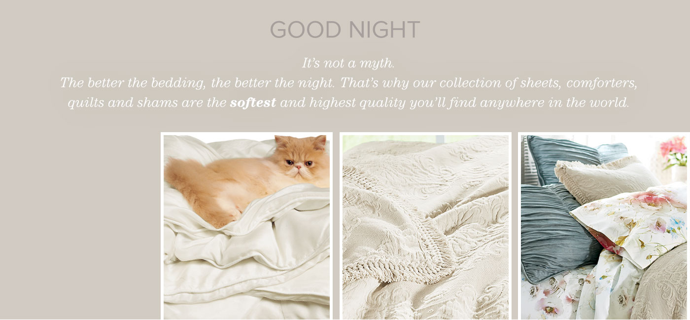 Good Night. Its Not A Myth   Discover Our Bedding