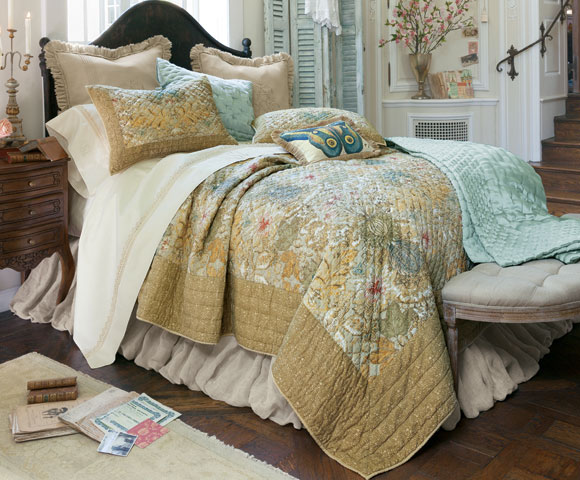 Soft Surroundings is your store for luxurious bedding sets to outfit your bedroom with beauty. Our bedding collections are inspired by vintage bedding with plush fabric & gorgeous detail. Shop here!
