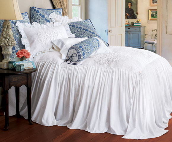 Soft Surroundings is your store for luxurious bedding sets to outfit your bedroom with beauty. Softness and quality have led our bedding experts to curate this collection with you in mind. Our bedding collections are inspired by vintage bedding with plush fabric & gorgeous detail. Shop here!