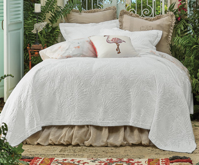 Mustique Matelasse Bedding Collection
