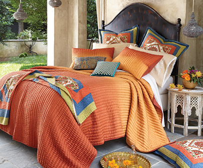 Sunset Silk Bedding Collection
