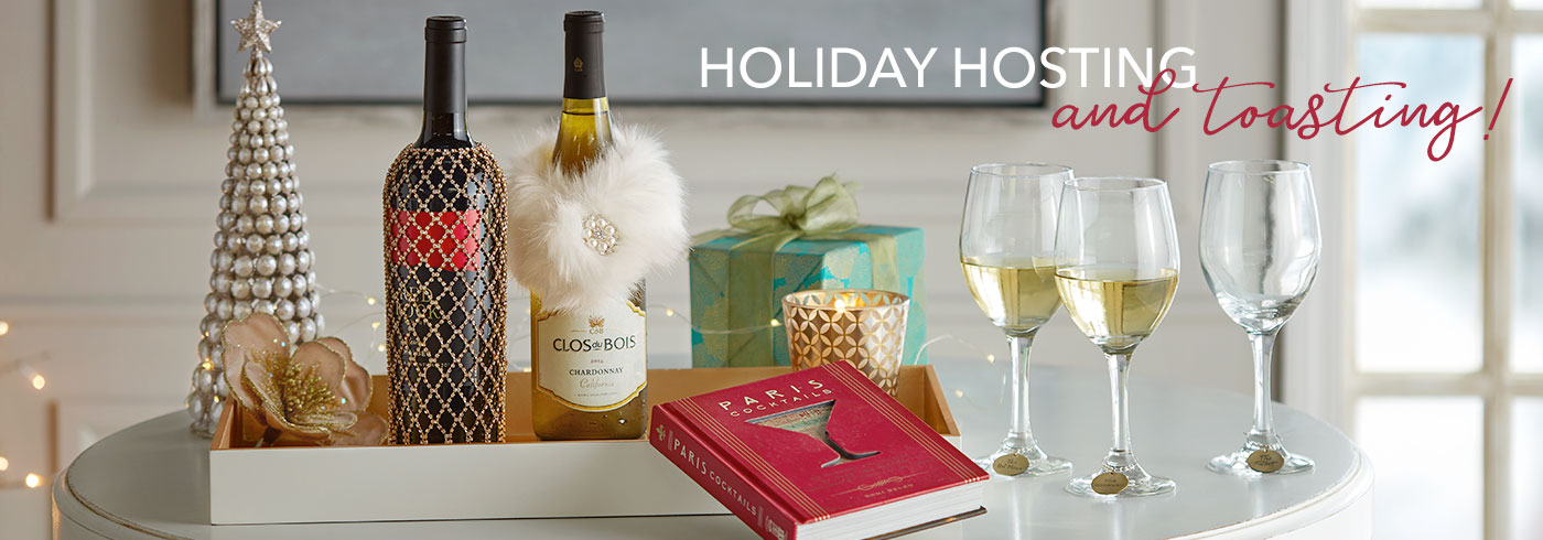 Holiday Hosting- and toasting!