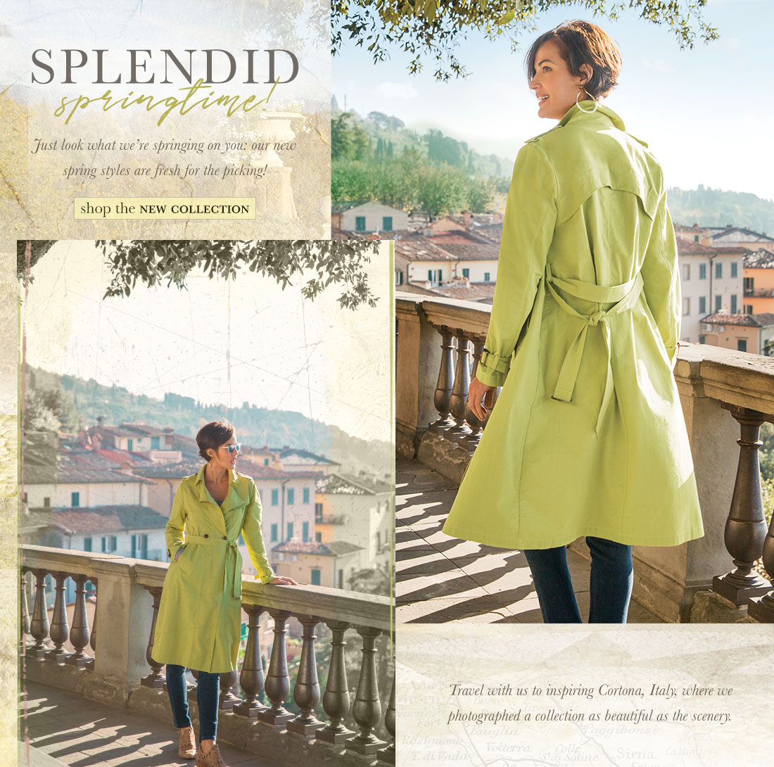 Splendid Springtime - shop the new collection