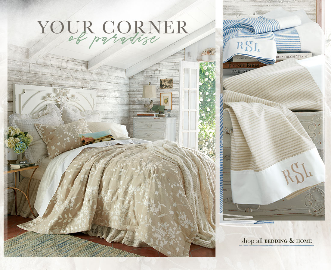 Your Corner of Paradise - shop bedding & home
