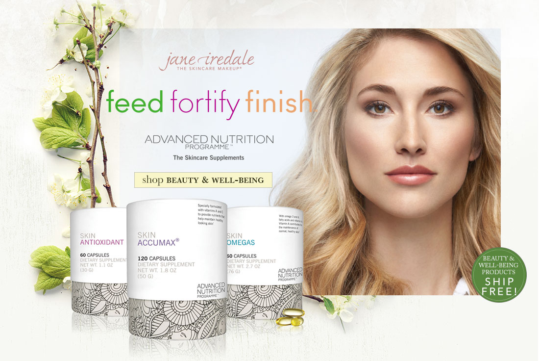 Feed. Fortify. Finish- shop beauty & well being