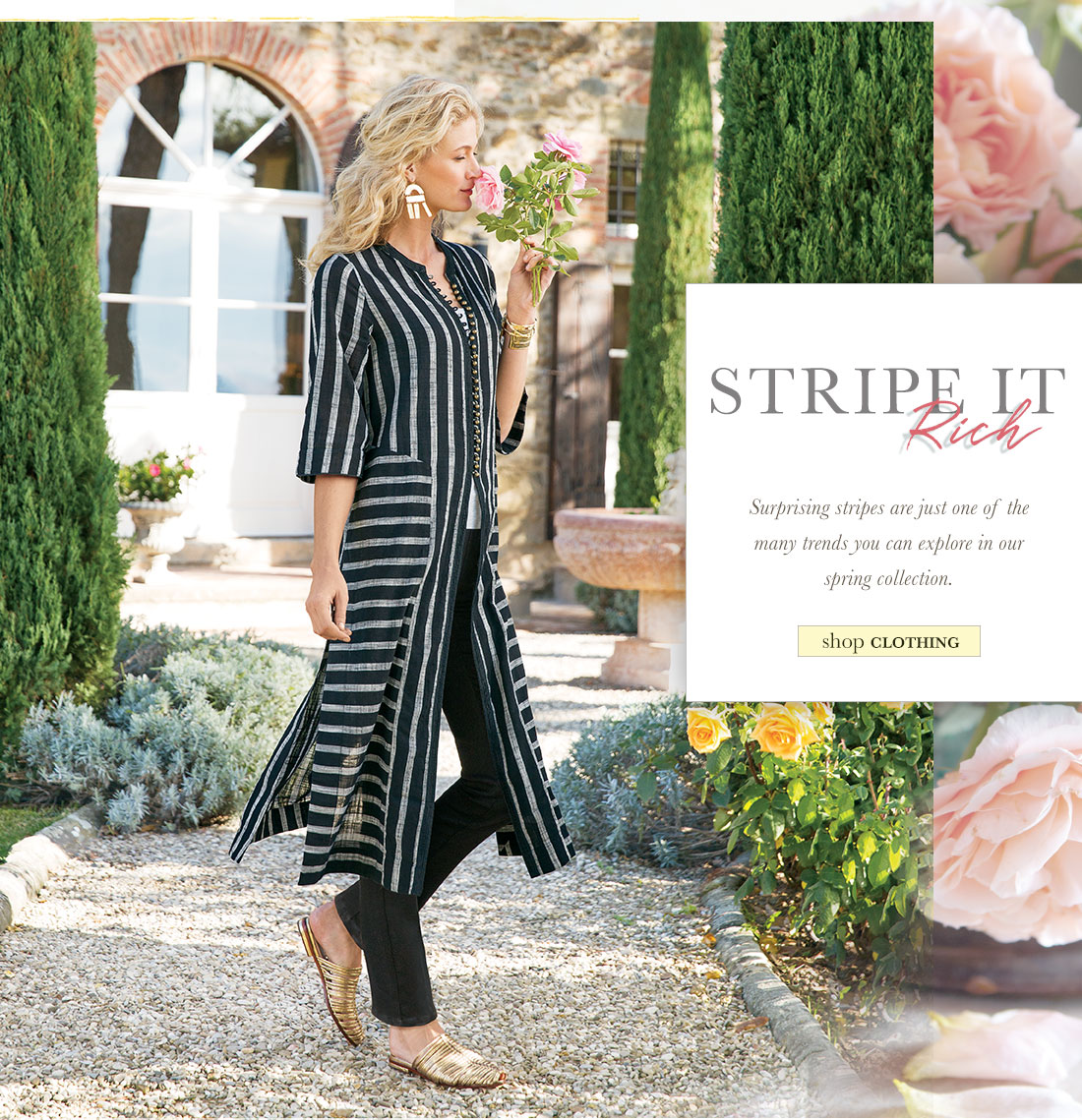 Stripe it Rich- shop clothing