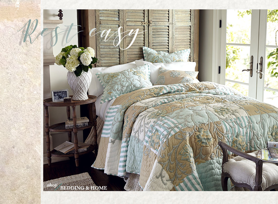 Rest Easy - shop all Bedding & Home