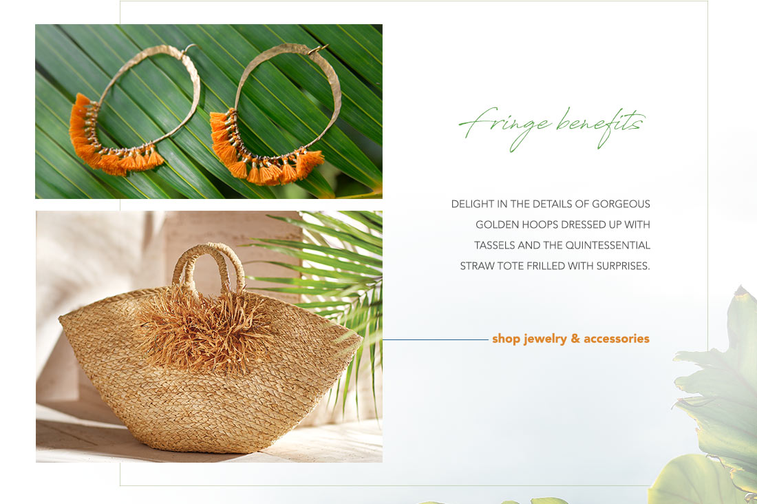 Fringe Benefits- shop jewelry & accessories