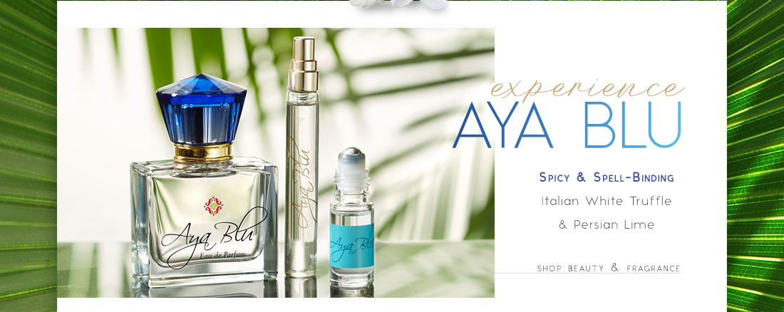 Experience Aya Blu - shop beauty & fragrance