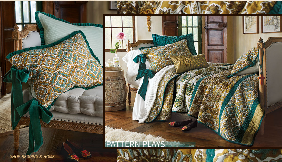 Pattern Plays- shop all bedding & home