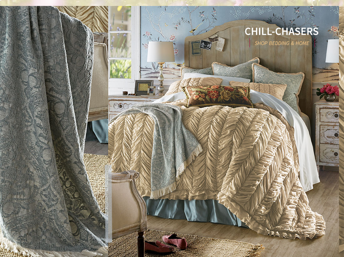 Chill Chasers- shop bedding & home
