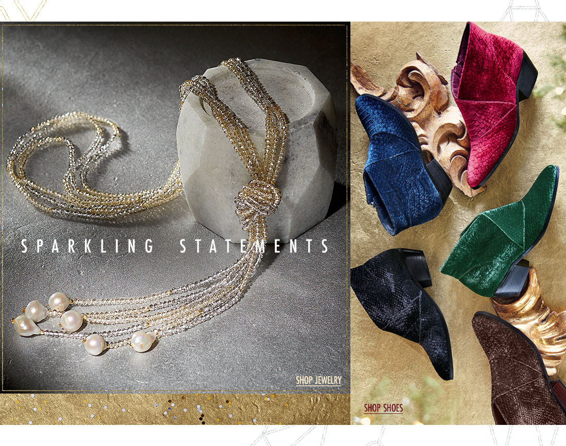 Sparkling Statements - shop jewelry & shoes