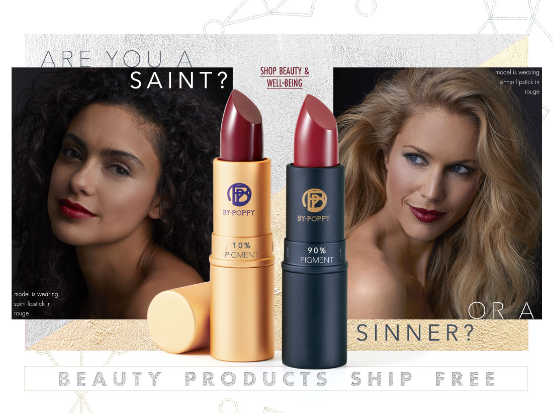 Are you a saint or a sinner? -shop all beauty